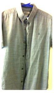 Boys Calvin Klein button down shirt.